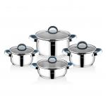Cooking pots (Steel)