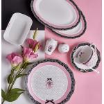 Porcelain breakfast set - 32 pieces