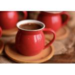 12-piece coffee cup set