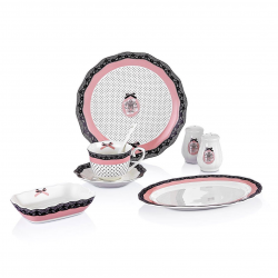 Porcelain breakfast set - 32 pieces