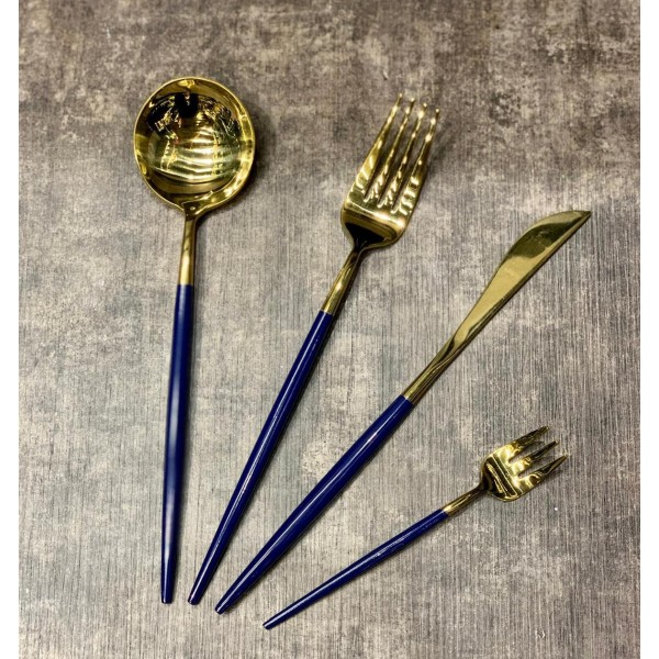 Set of 24 spoons, forks and knives