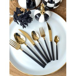 Set of 42 spoons, forks and knives