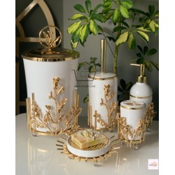 5-piece golden banyo set