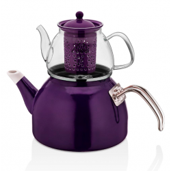 The teapot is heat resistant