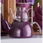 The teapot is heat resistant