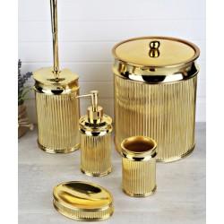5-piece golden banyo set