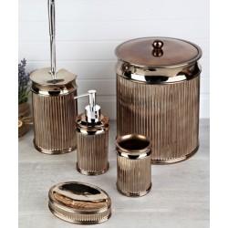 5-piece bronze banyo set