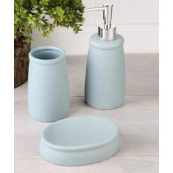 3-piece cyan banyo set