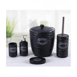 5-piece black banyo set
