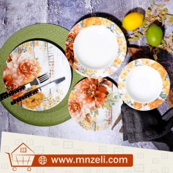 A 24-course dining set