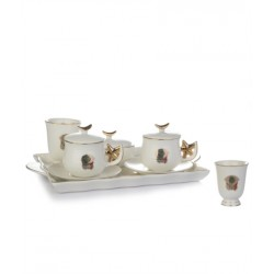 TRAY COFFEE SET
