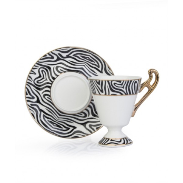 12-Piece Coffee Cup And Saucer Set
