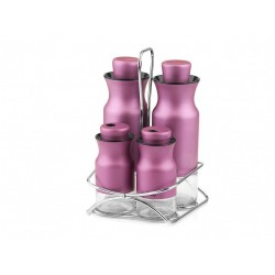 The spice set consists of 5 pieces of violet mia