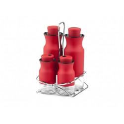 The spice set consists of 5 pieces of red mia
