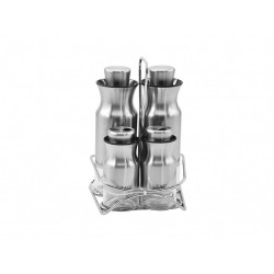 The spice set consists of 5 pieces of silver