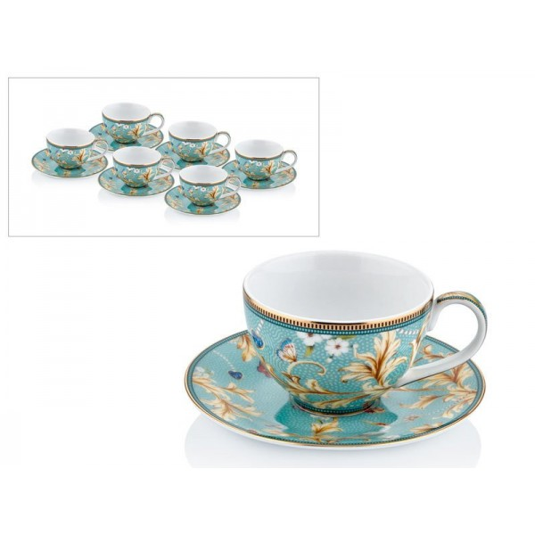 French coffee set of 12 pieces