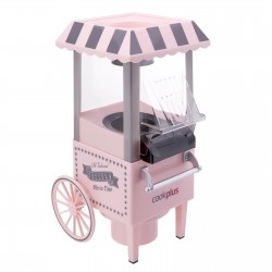Popcorn machine making pink color