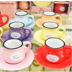 Turkish Love coffee cups set