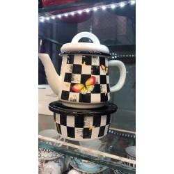 Turkish tea kettle with heater