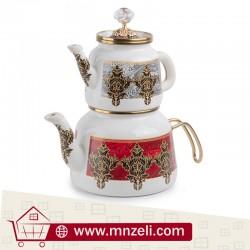 Turkish luxury teapot measuring 2.5 liters - 1.1 liters