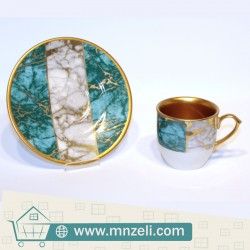 Turkish coffee set consisting of 12 pieces