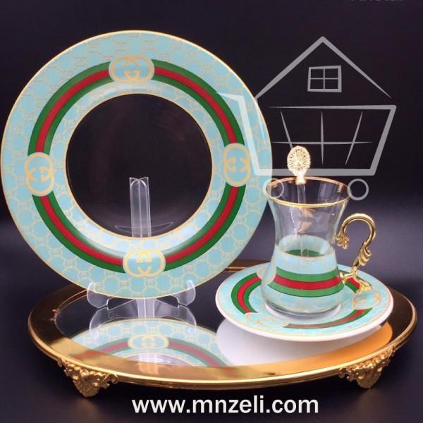 24-piece tea set