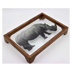 Turkish tray Made of wood