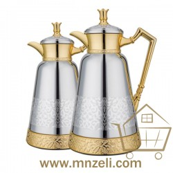 Thermos tea set consisting of 2 pieces