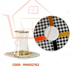12-piece tea cup set